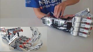 getlinkyoutube.com-LEGO EV3 Robotic Arm | Cyborg Arm
