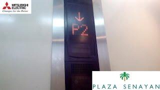 Refurbished Mitsubishi Freight Parking Elevator (2007) at Plaza Senayan