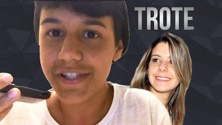 getlinkyoutube.com-Trote para Amanda Neves ( PARABENS !)