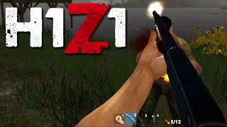 Shotgun Psycho! [H1Z1 Airdrop Funny Moments and Kills]