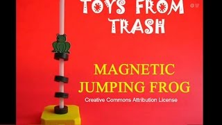 MAGNETIC JUMPING FROG - ENGLISH - 16MB