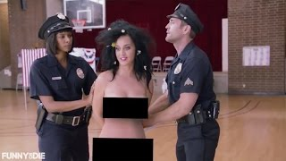 getlinkyoutube.com-Katy Perry Tries to Vote Naked, Gets Arrested for Funny or Die