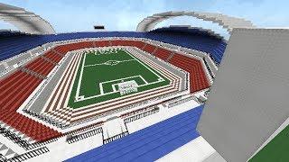 getlinkyoutube.com-Minecraft Construcción de estadio de fútbol (cámara rápida)