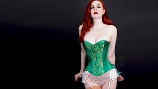 """getlinkyoutube.com-Tightlacing: la costumbre de hacerse una """"cintura de avispa"""" usando corset"""