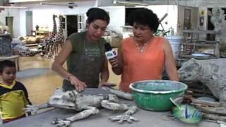 getlinkyoutube.com-Cita Con Nelly - Tonala Papel Mache (Parte 1)