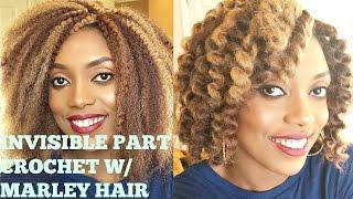getlinkyoutube.com-CROCHET BRAIDS w/ MARLEY HAIR( INVISIBLE/ NO KNOT PART)