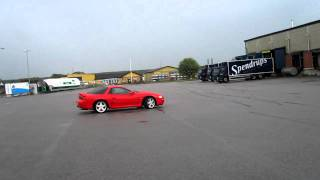 getlinkyoutube.com-Mitsubishi 3000GT drifting