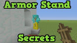 getlinkyoutube.com-Minecraft Xbox 360 / PS4 - 5 Armor Stand Secret Uses
