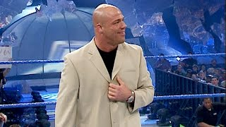 Kurt Angle announces himself as SmackDown's new General Manager: SmackDown, March 25, 2004