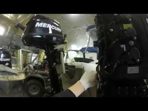 Демонтаж мотоголовки и ГБЦ с лодочного мотора Mercury 100