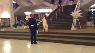 Marine coming home from deployment