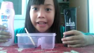 Cara membuat slime tanpa lem, deterjen,dan borax
