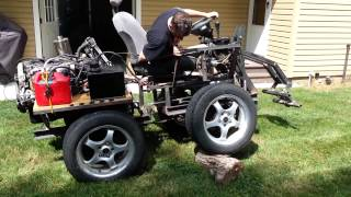 getlinkyoutube.com-Homemade honda wheel loader part 5
