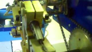 getlinkyoutube.com-Carolina Machinery Sales - Automatic Band Saw Sharpener and Setter