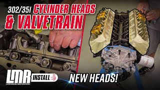 getlinkyoutube.com-How To Install 302/351 Mustang Cylinder Heads and Valvetrain (79-95)