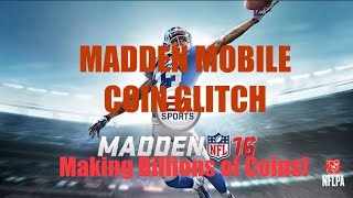 getlinkyoutube.com-MADDEN MOBILE 16 CRAZY COIN GLITCH?!?! (BILLIONS OF COINS WITH BRUCE SMITH PULL!)