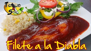 "getlinkyoutube.com-Filete de Pescado a la Diabla ""paso a paso"" (TOQUE Y SAZÓN) Receta de Filete a la Diabla"