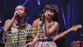 Tasya [DUET ROMANTIS] - Curahan Hati   |   (Official Video)   #music width=