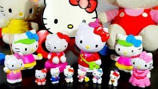 getlinkyoutube.com-Хелло Кити 2015, Лунтик и Смешарики, открываем Киндер сюрпризы (hello kitty toys, surprise eggs)