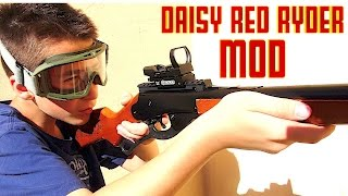 Daisy Red Rider Mod with Robert-Andre! width=