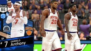 getlinkyoutube.com-NBA 2K17 4K My Team - All Time New York Knicks Opponent! PS4 Pro