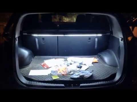 Скрытая подсветка багажника/Hidden light to car trunk KIA Sportage 2010-
