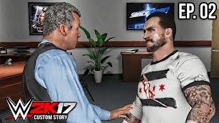 getlinkyoutube.com-WWE 2K17 Custom Story - Shane McMahon Put CM Punk in a Gauntlet Match! ( CM Punk Story Pt.2 )