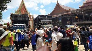 getlinkyoutube.com-ศึกช้างสามเชือก รถแห่ ชายกลางมิวสิค ปะทะ เด่นซาวด์ ปะทะ วงษาซาวด์ วันที่ 28 มิ.ย 58 แห่นาคบ้านกระโพ