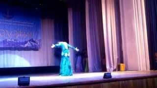 getlinkyoutube.com-Crazy iragi performance by Ayana Kambarova(Kazakhstan) 2014