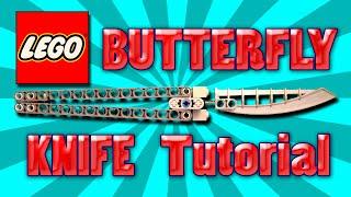 getlinkyoutube.com-How to make LEGO BUTTERFLY KNIFE/BALISONG