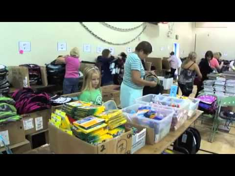 Backpacks Filled for 1,700 Bellevue Students in Need