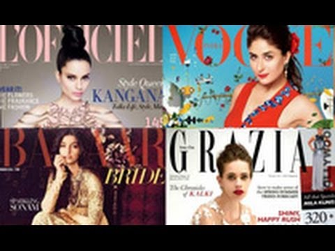 Kangana, Sonam & More Sexy & Stunning Cover Beauties | Hindi Latest News | Kareena, Gauri