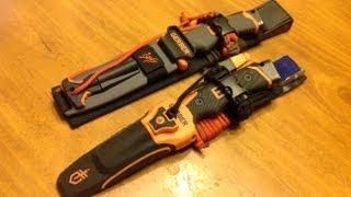getlinkyoutube.com-Gerber Bear Grylls Ultimate and Pro Knife Upgrades