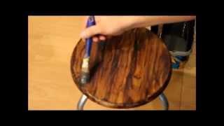 getlinkyoutube.com-DIY jak efektownie  malować imitację słojów drewna (faux wood grain painting)