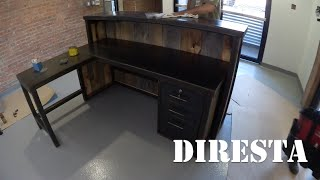 getlinkyoutube.com-✔ DiResta Reception Desk