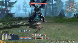 getlinkyoutube.com-Blade & Soul 劍靈 - 劍士坦風毒龍(1080p 60fps)