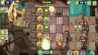 getlinkyoutube.com-Plants vs Zombies 2 Mares Piratas Dia 1,2,3,4,5