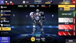 getlinkyoutube.com-Real Steel Champions - Gameplay Trailer (Spanish)