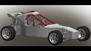 getlinkyoutube.com-Solidworks Offroad Racing Buggy