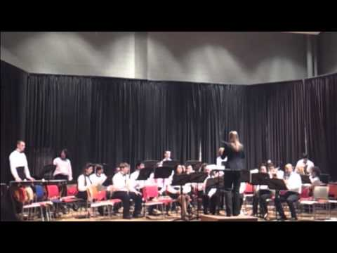 Lynn All City HS Band - Fanfare Ode and Festival