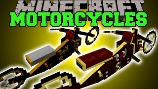 getlinkyoutube.com-Minecraft: MOTORCYCLES (HAVE EPIC MOTORCYCLE RACES!) Mod Showcase
