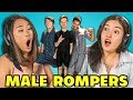 TEENS REACT TO MALE ROMPERS #ROMPHIM