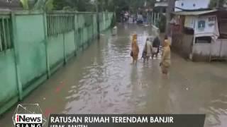 getlinkyoutube.com-Diterjang Hujan Dalam 3 Hari, Kawasan Lebak, Banten Terendam Banjir - iNews Siang 22/02