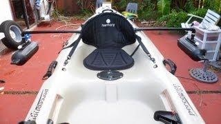 getlinkyoutube.com-DIY - Homemade Kayak Stabilizers/ Outriggers / Pontoons - part # 1 - HD # 16