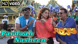 Pardaah Nasheen Hd Full Video Song Rascals Sanjay Dutt Ajay
