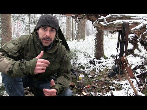 Meine Ausrüstung für einen Bushcraft-Tagesausflug in den Wald | Outdoor AusrüstungTV