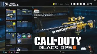 getlinkyoutube.com-Call of Duty: Black Ops 3 Sniping / Sniper Class Setup! Black Ops 3 Quickscoping