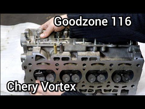 Ремонт ГБЦ Chery Vortex, с применением японских направляющих фтулок клапанов.