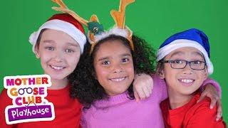 getlinkyoutube.com-Christmas Song | We Wish You a Merry Christmas | Mother Goose Club Playhouse Video