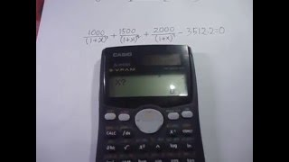 Casio FX-991ms Evaluating Integral and Derivatives (Definite integral) width=